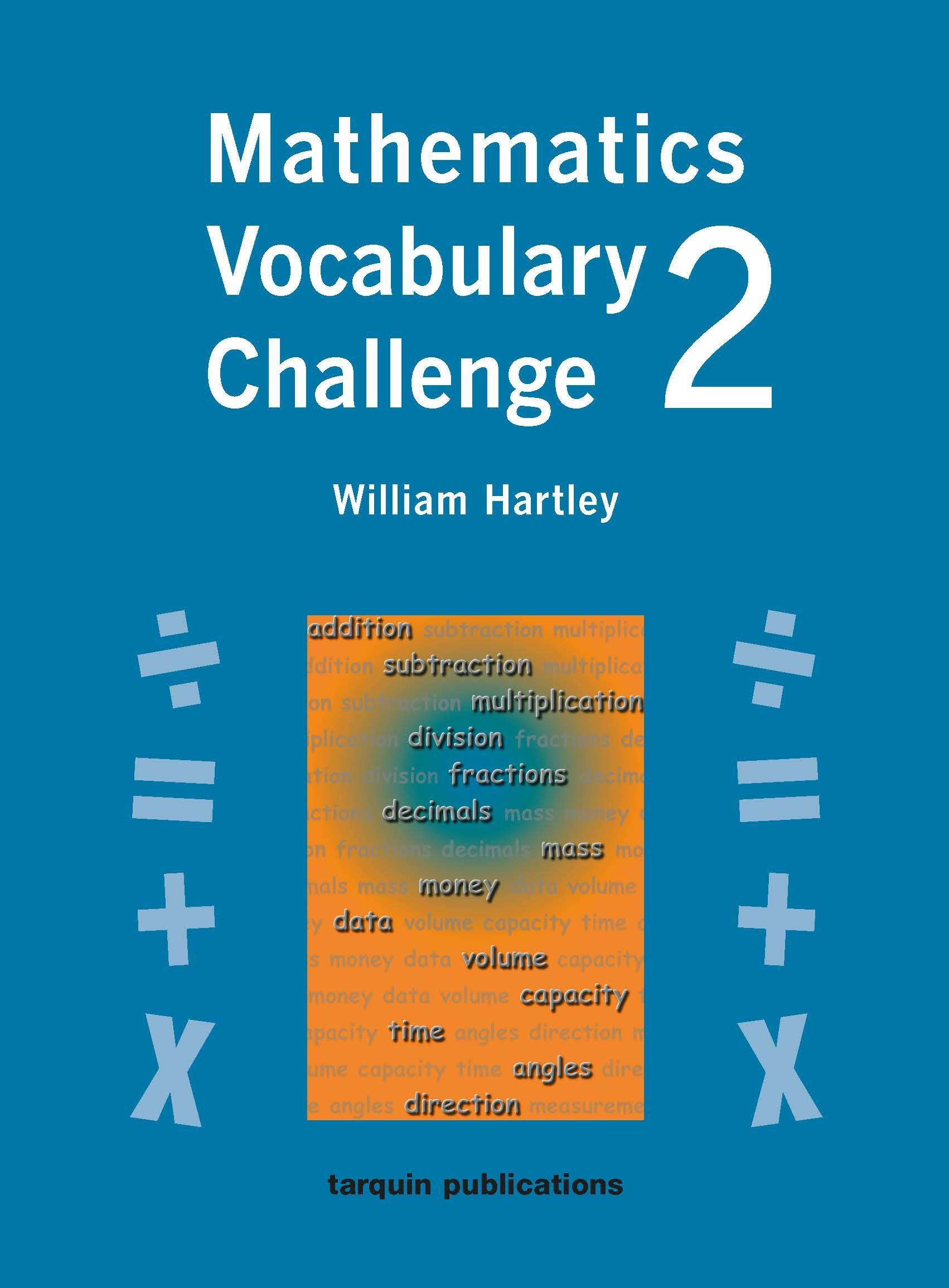 Mathematics Vocabulary Challenge Two 36 Photocopiable