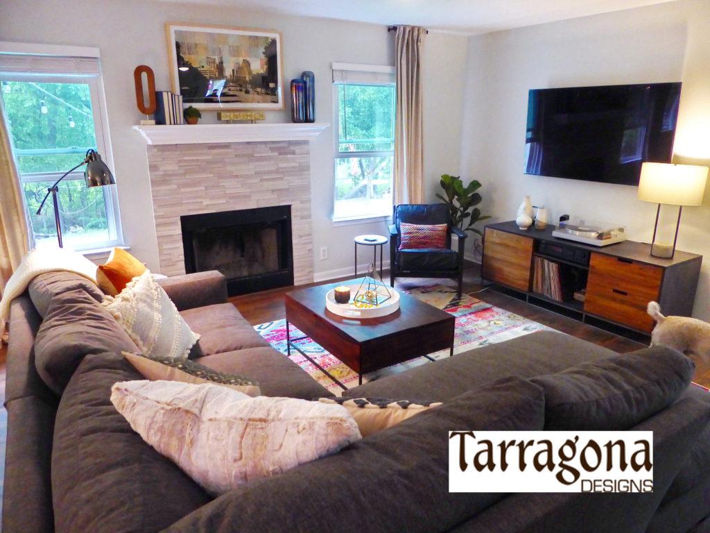 Living Room Reset  Tarragona Designs