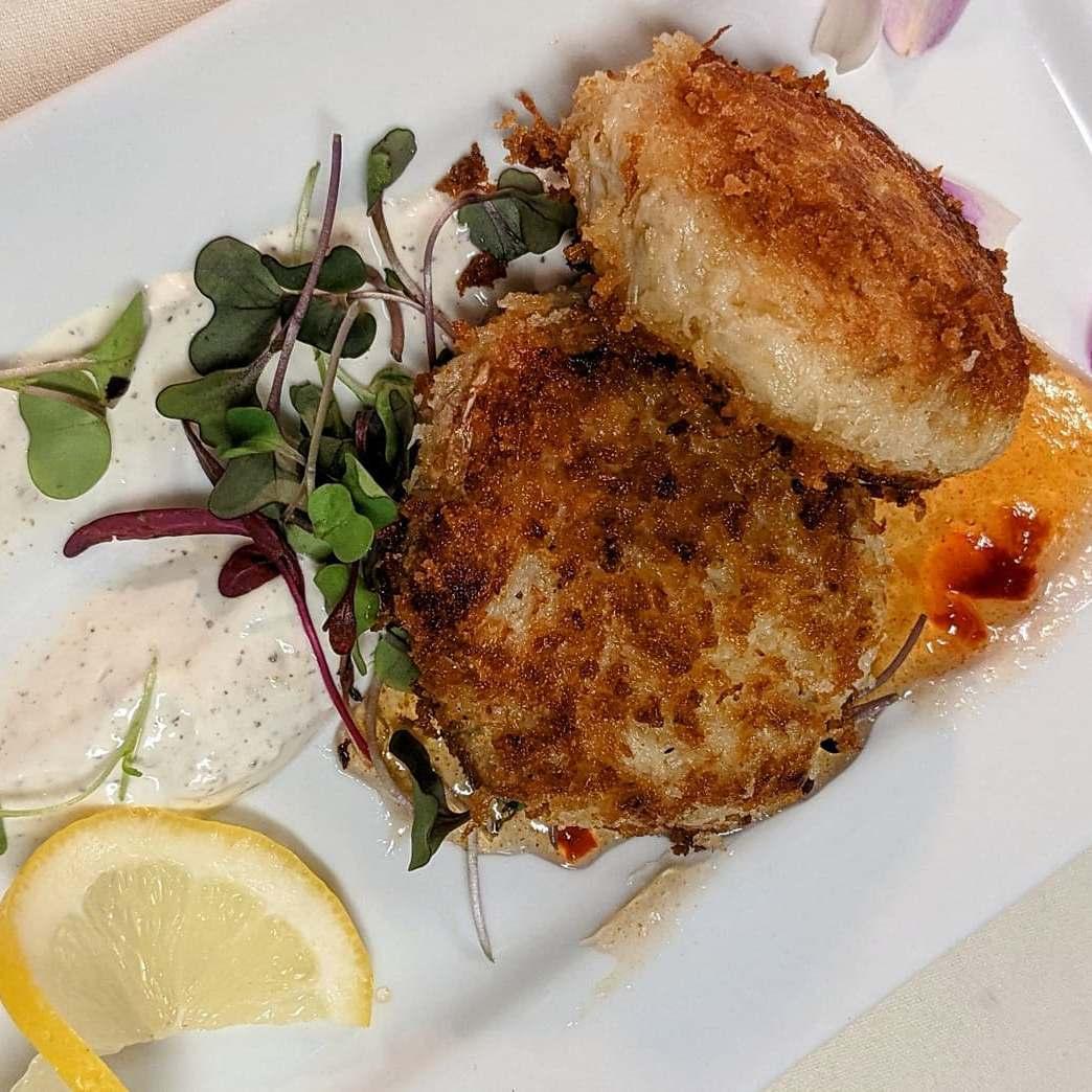 crab cakes appetizer tarratine bangor
