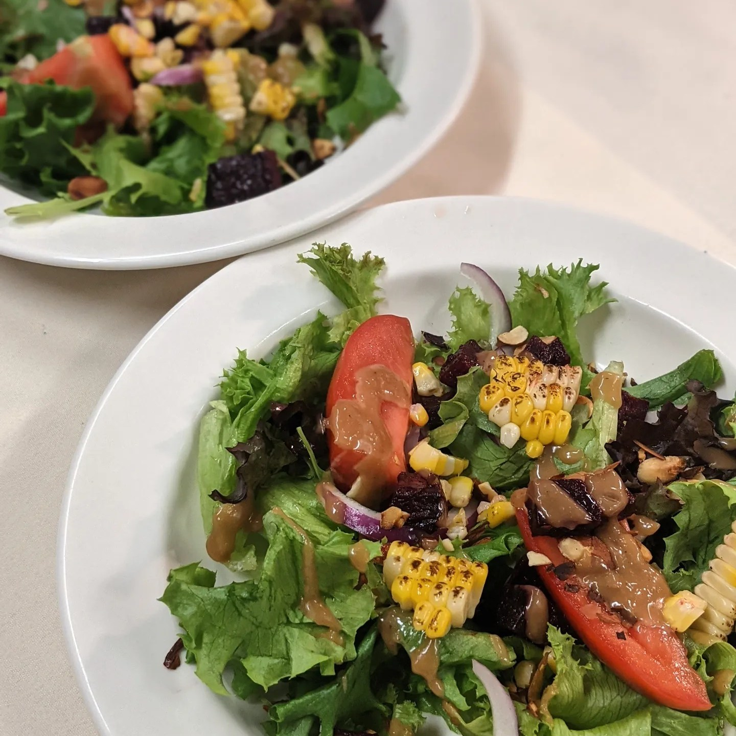 salads at our restaurant in bangor maine