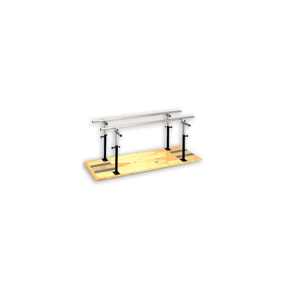 Clinton Manual Width & HeightPlatform Mounted Parallel Bars