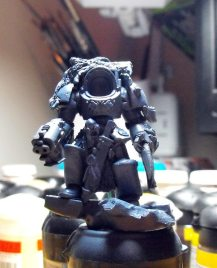 Space Wolf lord WIP