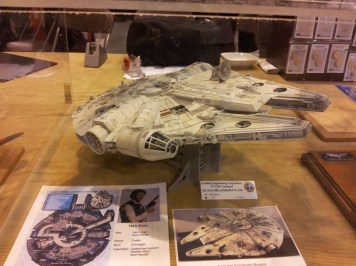 Another Millenium Falcon from IPMS