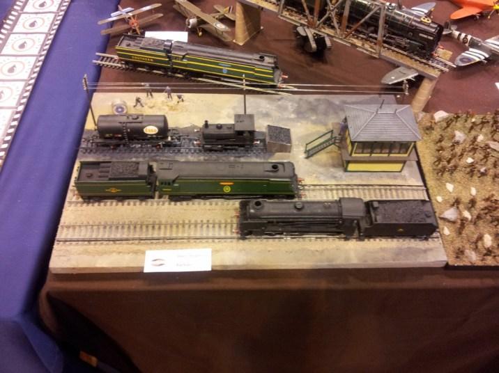 Trains at Telford IPMS 2011
