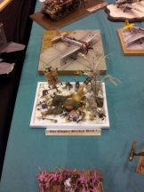 The empire strikes back GW diorama at Telford IPMS 2011