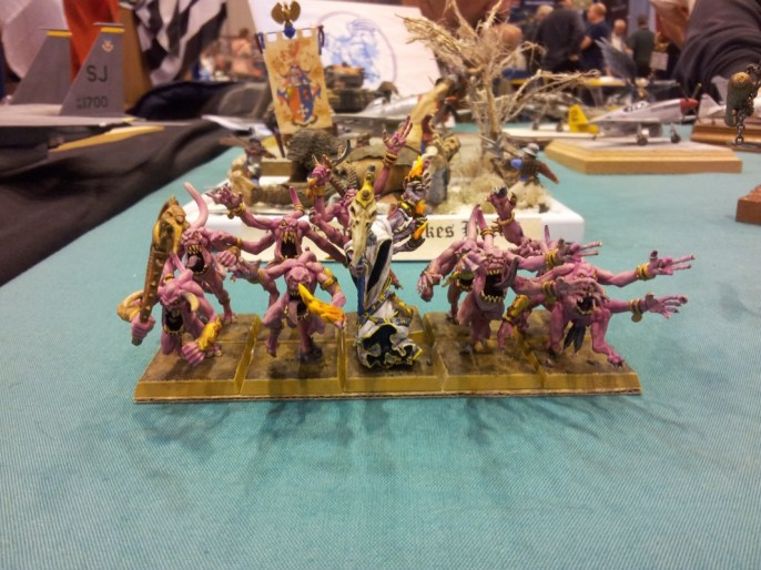 Pink Horror Demons at the French stand at Telford IPMS 2011