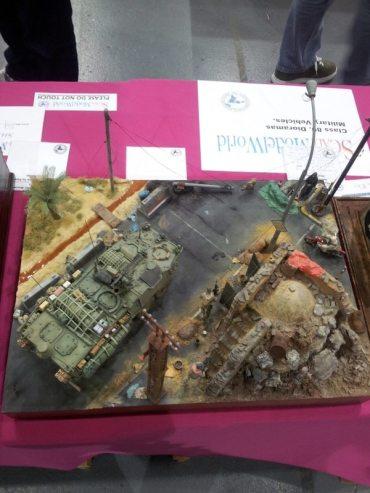 Tank Diorama at Telford IPMS 2011