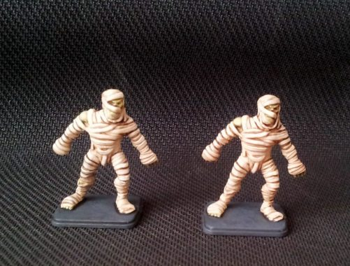 Finished Heroquest Mummies