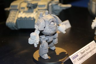 Death Gaurd Contemptor Dreadnought