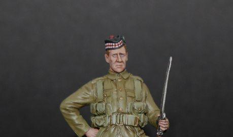 Tommys War Gordan Highlander