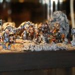 Golden Demon UK 2012 Warhammer 40k Squad Silver
