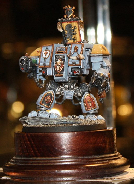 Golden Demon 2012 UK Warhammer 40k Vehicle Bronze