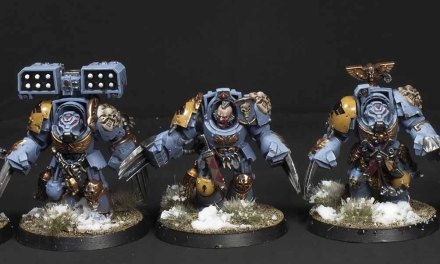 Showcase: Space Wolves Void Claws & Rhino