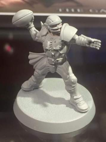 new blood bowl human