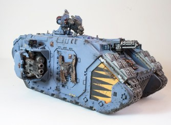 space wolves landraider