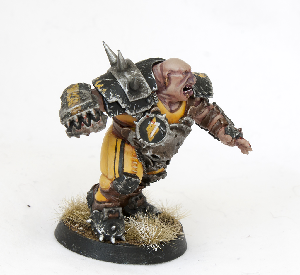 blood bowl ogre - side 1 - tartan paint 1024