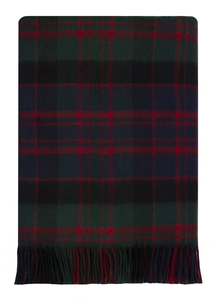Macdonald Tartan Lambswool Travel Rug