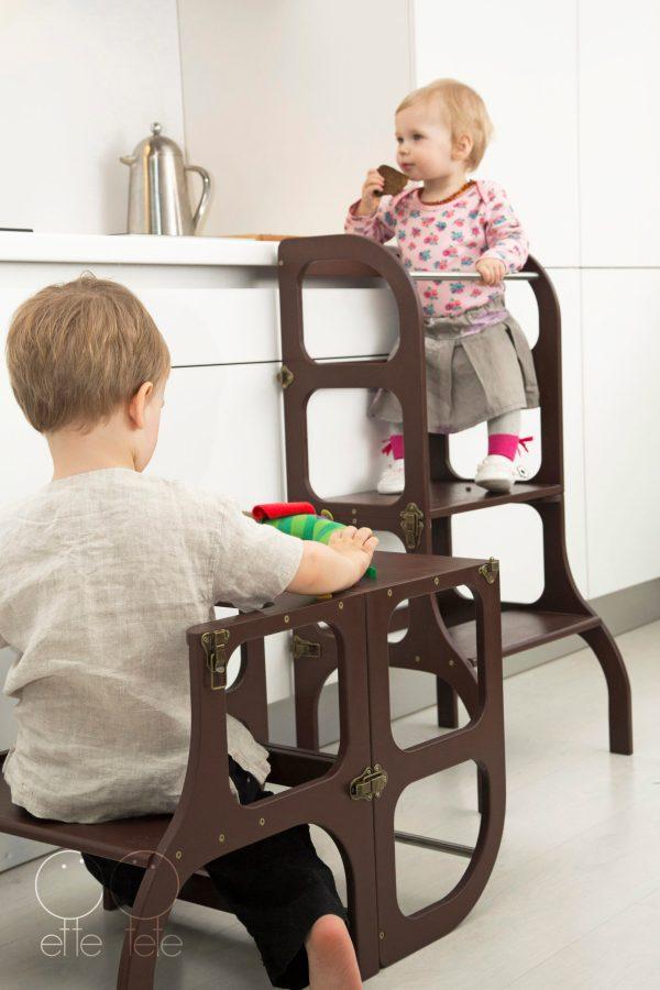 Torre de Aprendizagem 3 em 1 - Step'n Sit - Tartaruguita
