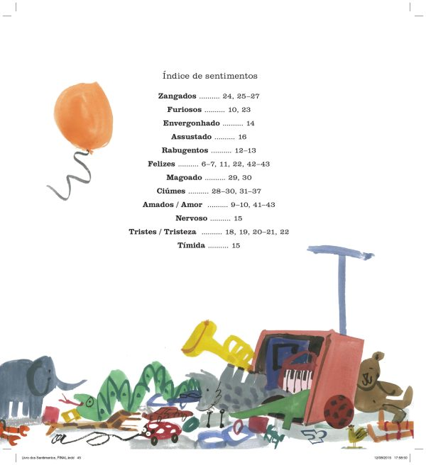 Um Livro de Sentimentos - Amanda McCardie - Tartaruguita