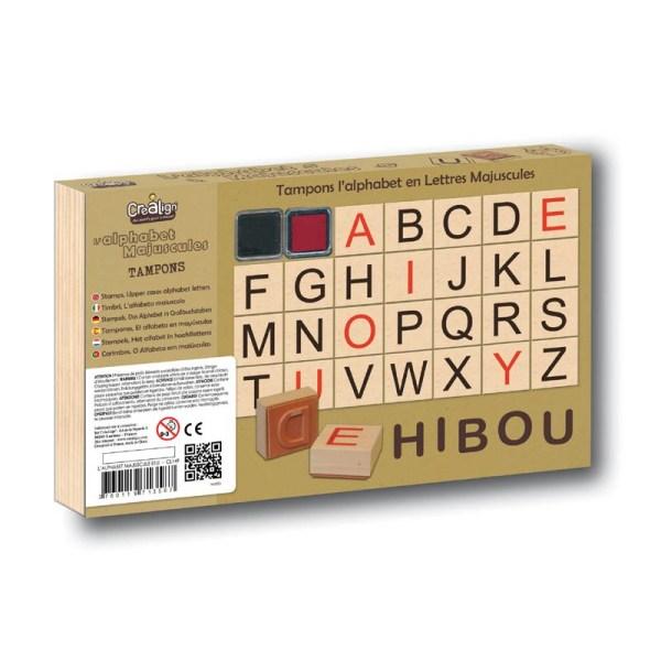 Carimbos Alfabeto em Maiúsculas - Tartaruguita - upper-cases-alphabet