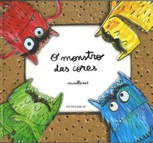 O monstro das cores Pop-up - Anna Llenas Tartaruguita