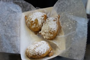 Deep fried Oreos. Another thing we bought twice. Yeah. They were delicious.