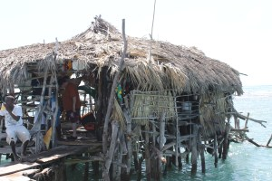 The Pelican Bar in all its rustic charm