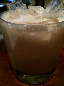My old standby. A White Russian. Honestly, it's my favorite.