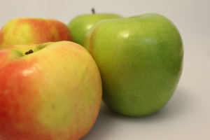 Granny Smith and Pink Lady Apples
