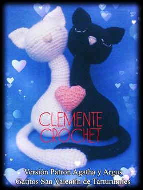 Patrón Agatha y Argus de Tarturumies Versión de Clemente Crochet