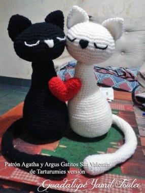 Patrón Agatha y Argus de Tarturumies Versión de Guadalupe Yamil Foulex
