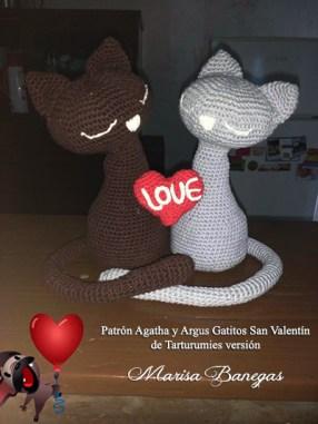 Patrón Agatha y Argus de Tarturumies Versión de Marisa Benegas