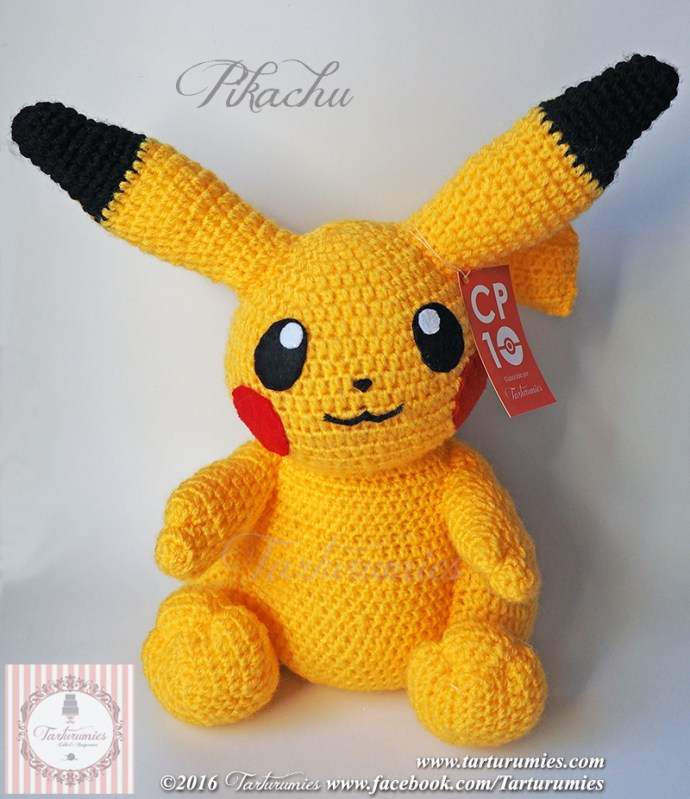 Pokemon!!! Make a few of the pokemon yourself with this crochet ... | 799x690