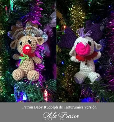 Patrón Baby Rudolph de Tarturumies versión Ale Baser