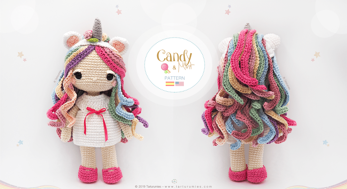 Jazzy the Unicorn | Receta | Amigurumi patrones gratis, Ganchillo ... | 655x1200