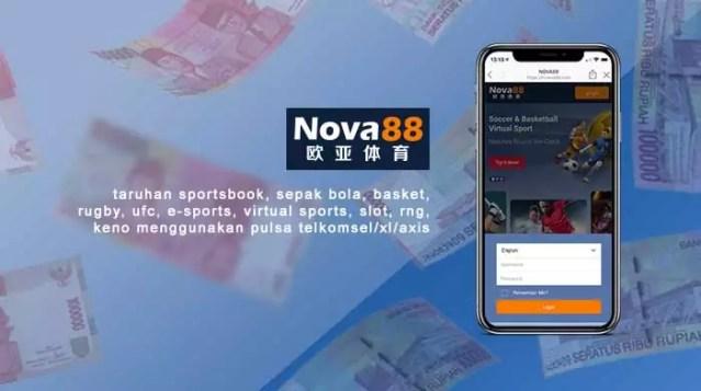 taruhan nova88 menggunakan pulsa