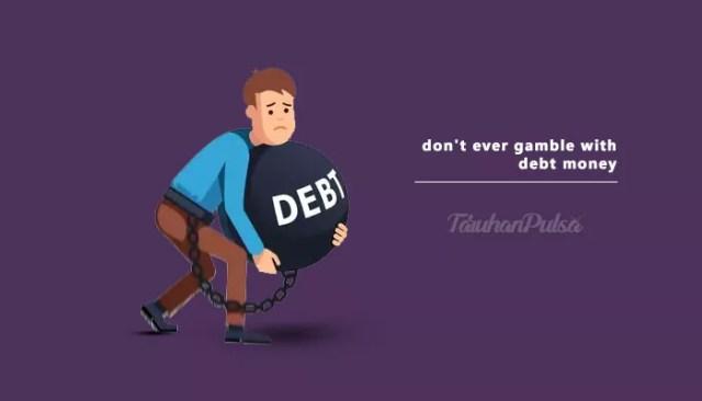 Kerugian Bermain Judi Online Dengan Uang Pinjaman
