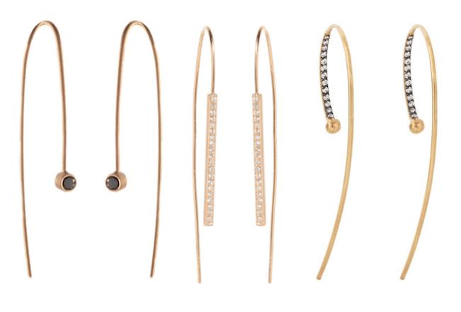 THE WIFE Guide: Threader Earrings  Taryn Cox The Wife