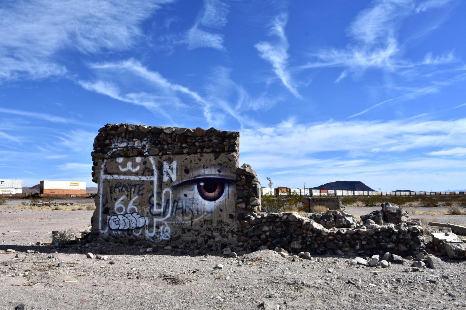 Road: There Be Strangeness in the California Desert
