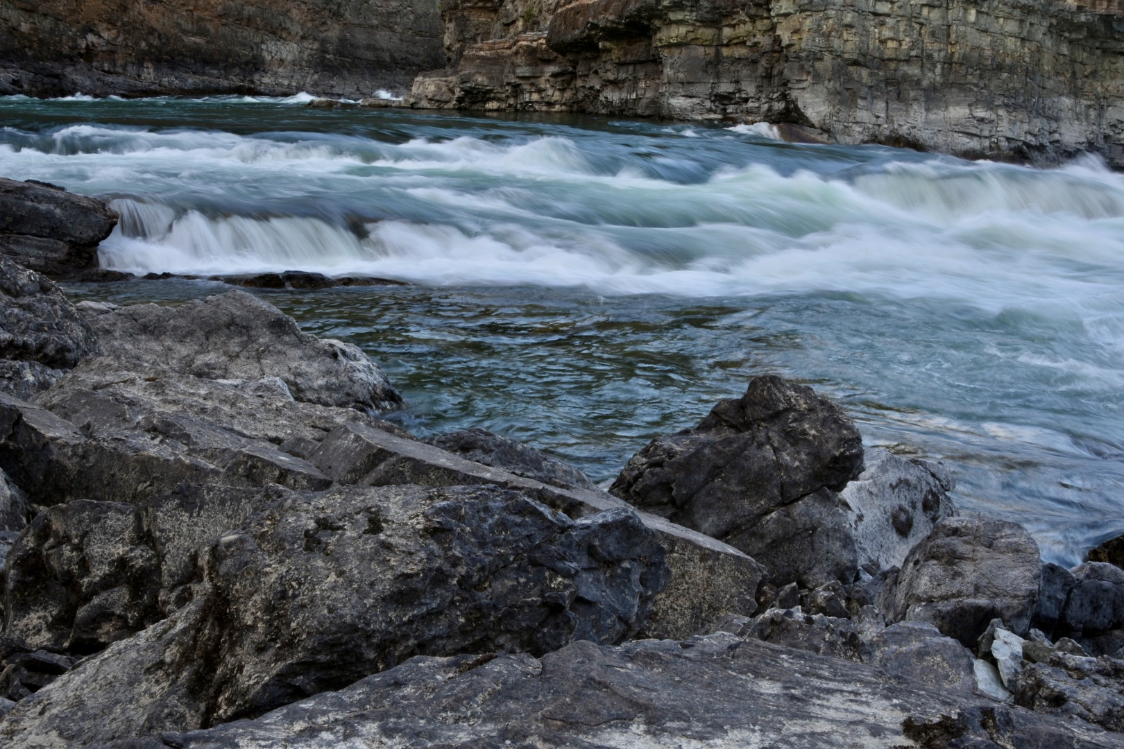 Road: Dry Falls, Grunge Music and the Kootenay River
