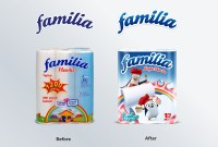 Familia Paper Towel Packaging Design