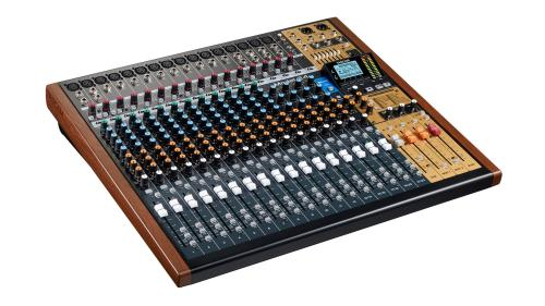 small resolution of  left angle view tascam model 24