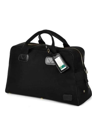 Schwarze Marlborough Bag in der Frontalansicht
