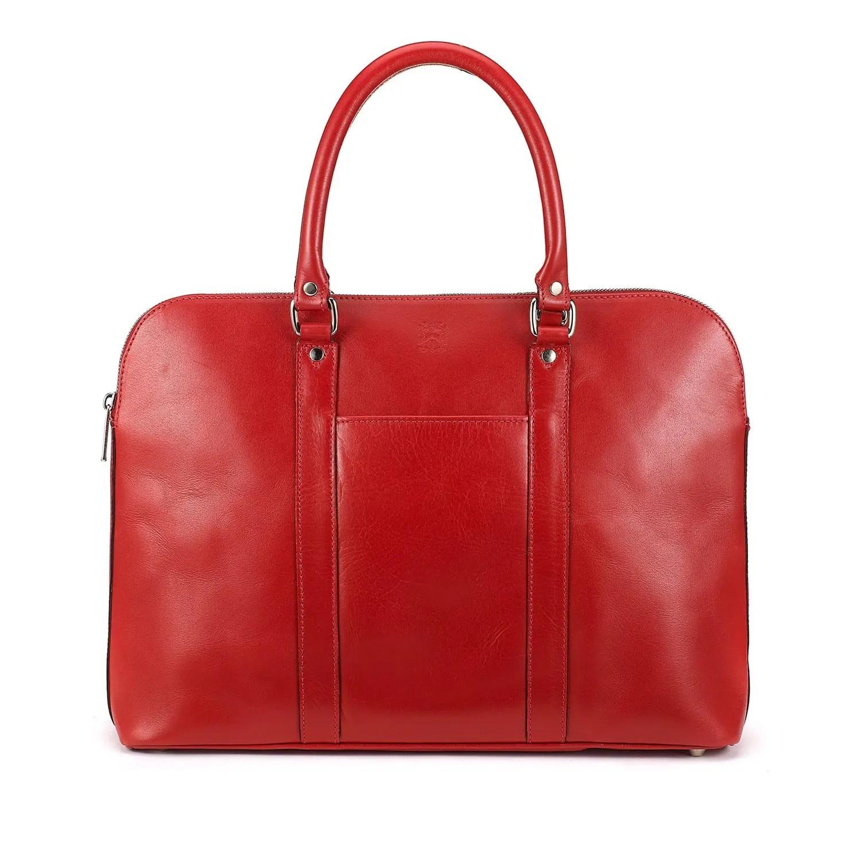Tasche der Woche: Die rote Damenhandtasche Donna von Tusting 1