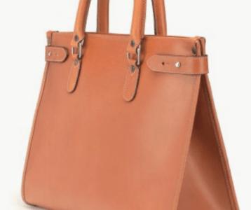 Bild einer braunen Tote Bag
