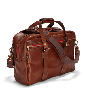 Vintage Leder traveller Port Frontal