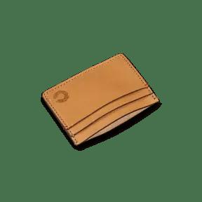 Vintage Kreditkartenhalter natur