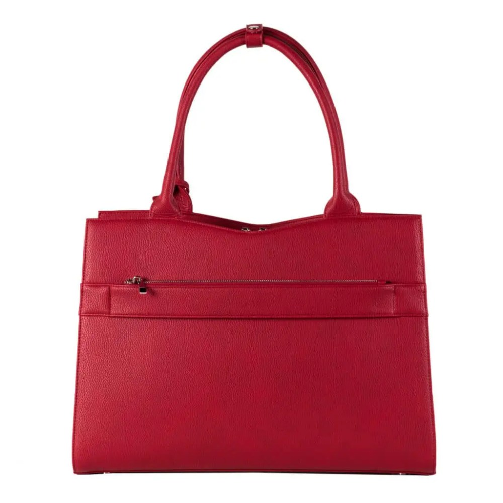 Business Tasche Straight Line Red Back