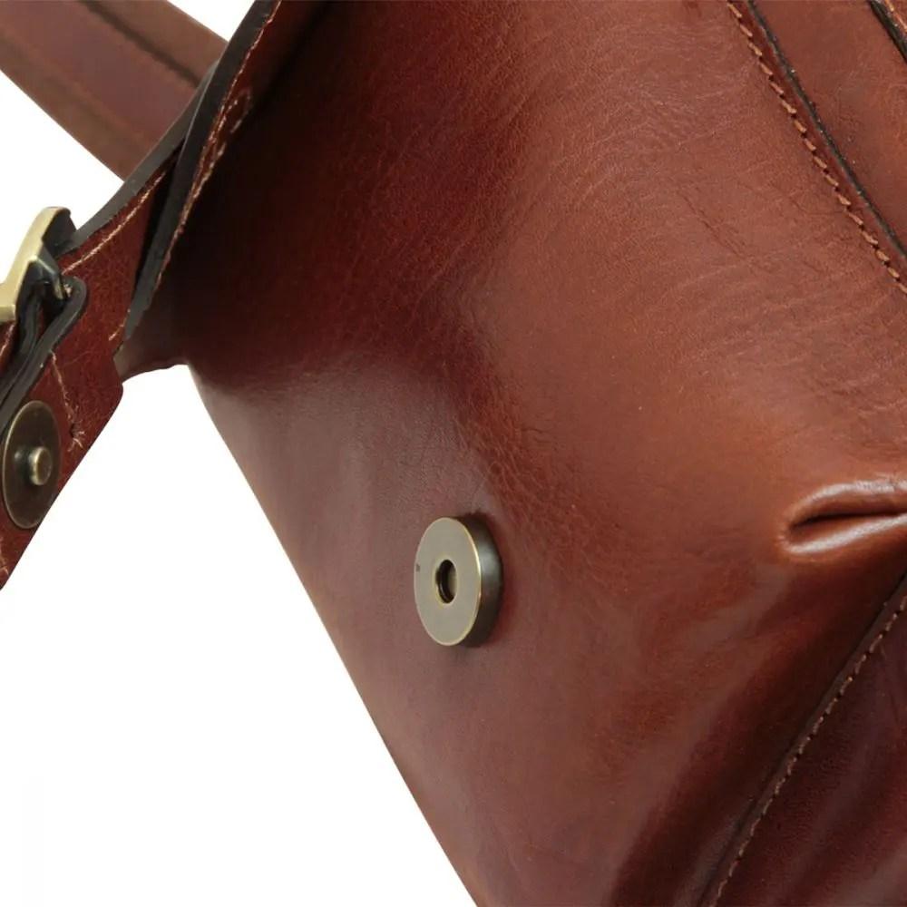 Nah Rucksack aus Leder