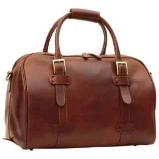 Duffle Bag Old Anger braun